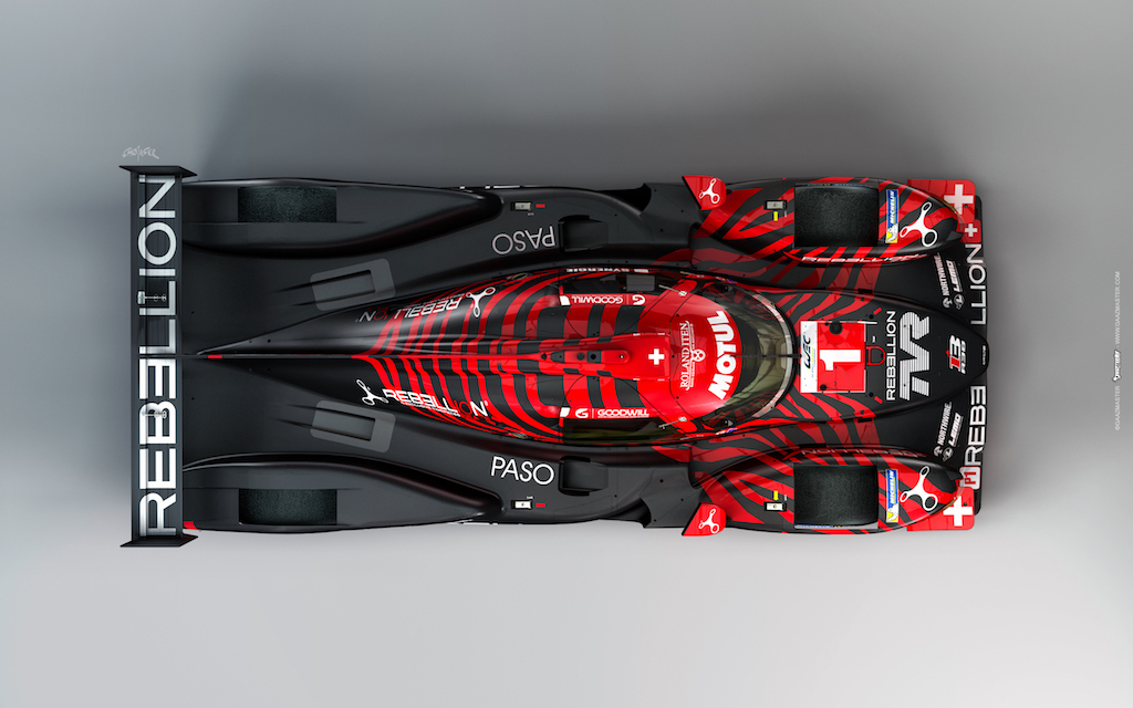 image of Rebellion R13 LMP1 car